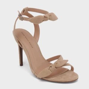 NWOT Who What Wear Eden Heeled Ankle Strap Sandals